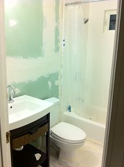 tape & float & sink (shelley1p) Tags: drywall pipes toto sheetrock greenboard tototoilet tapeandfloat 128gpf