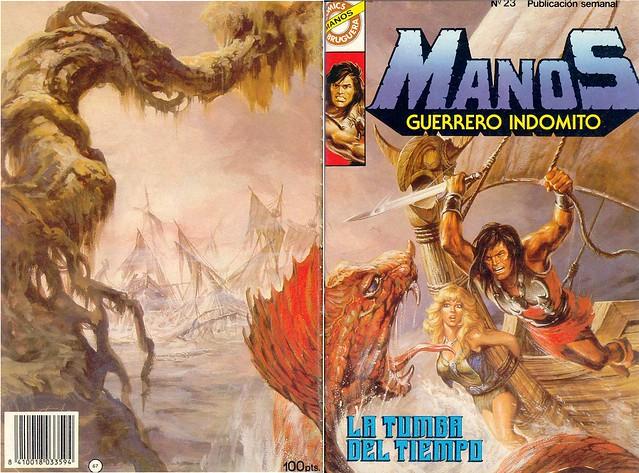 Manos Guerrero Indomito, Cover #23