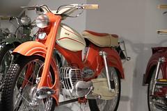 DKW Hummel Super (pilot_micha) Tags: oktober museum germany deutschland thüringen motorcycle vehicle oldtimer moped deu suhl fahrzeugmuseum baujahr1959 10102010 dkwhummelsuper friedrichkönigstrase