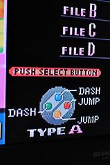 スーパーマリオコレクションスペシャルパック セーブ選択画面