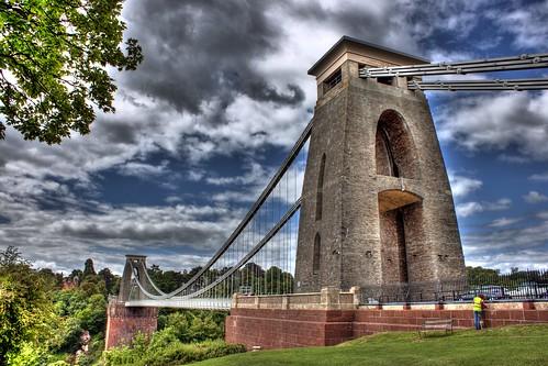 Puente de Bristol en HDR