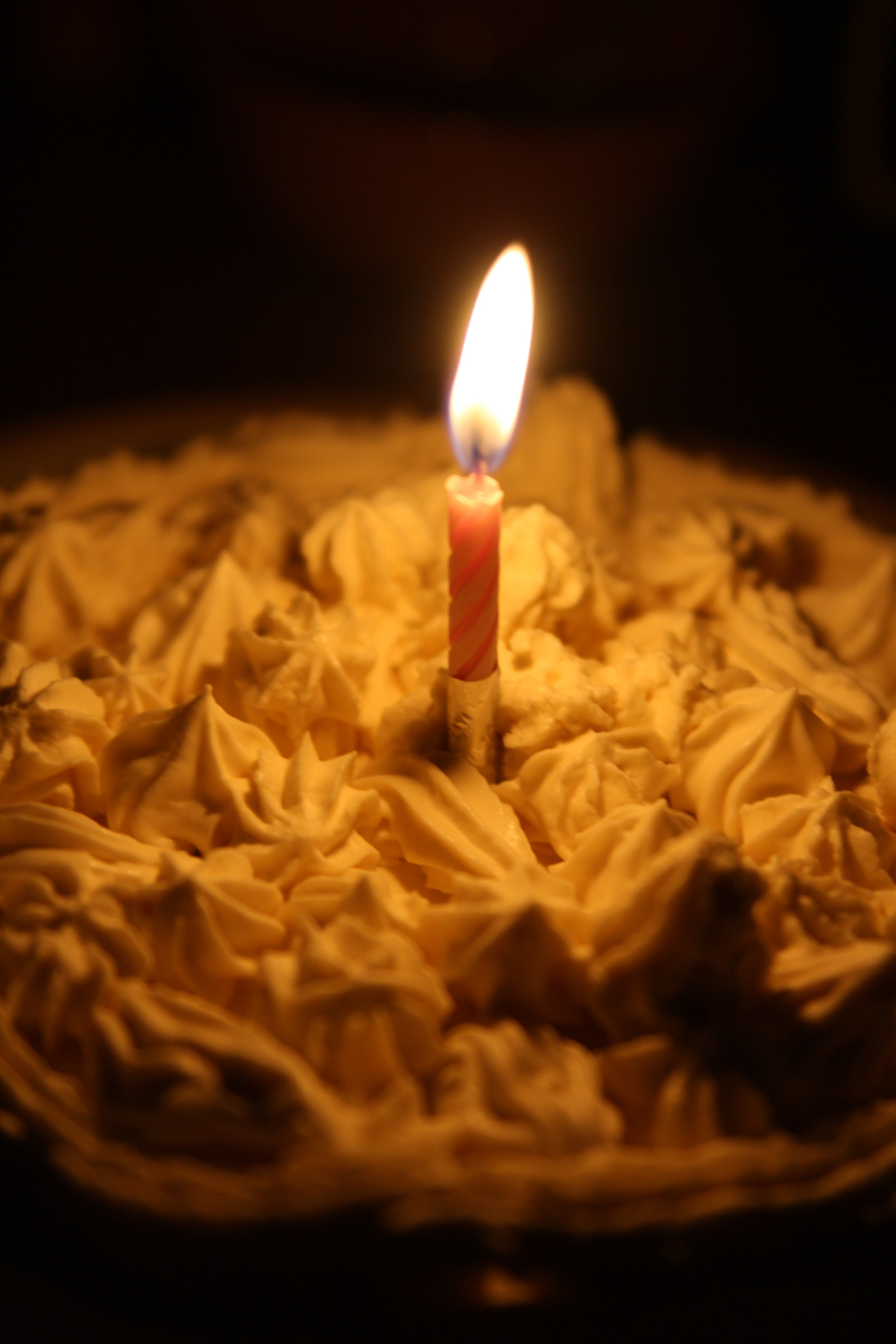 媽媽做的一歲生日蛋糕