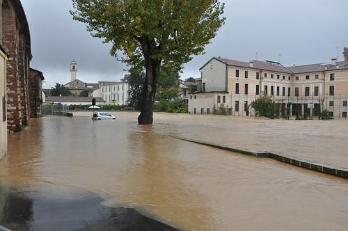 alluvione vicenza ponte pusterla