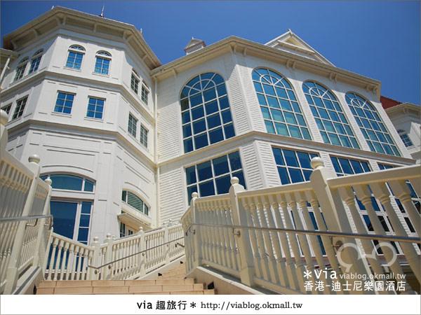 【香港住宿】跟著via玩香港(4)~迪士尼樂園酒店(外觀、房間篇)17