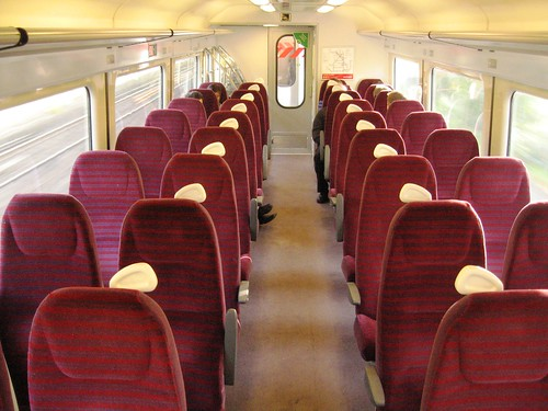 Standard (2nd) Class in a Charter Train (UK)