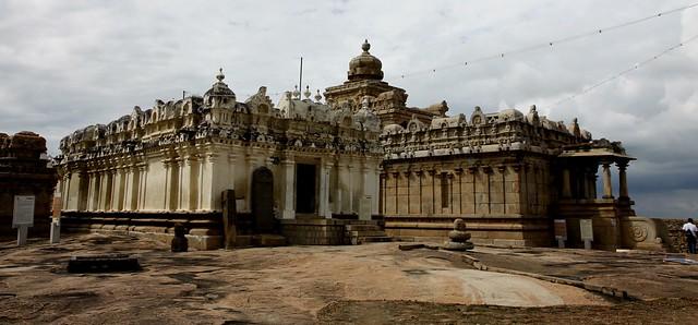 Temple at Chandragiri Hills