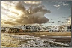 Albufeira (o mar fala de ti) -EXPLORE 9/11/2010- (Di Gutti (diegogutierrez79@gmail.com)) Tags: sunset praia portugal clouds mar song playa explore nubes puestadesol algarv