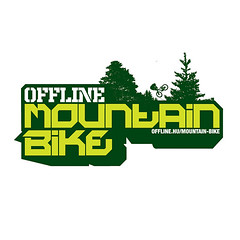 Offline MTB logo (MEDOKS 127) Tags: mountain bike bicycle forest emblem logo design stand ride graphic symbol extreme mountainbike downhill 127 cycle dh mtb font type letter typo offline freeride magazin trial mag logotype dirtjump omf osg medox medoks mdxdsgn offlinehu