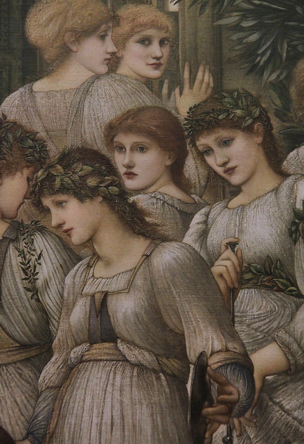 Part of The Golden Stairs, Edward Coley Burne-Jones, 1880