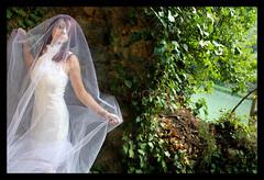 Halloween - The Ghost (Eve.n) Tags: wood halloween lady forest dark bride spirit withe ghost gothic goth pearl fantasma spectre phantasma