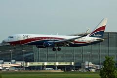 5N-MJP Arik Air 737-8JE. Heathrow 08/05/2016 (Tu154Dave) Tags: arik nigeria boeing 737 737800 7378je lhr heathrow london airport aircraft arikair