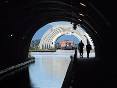 Tunnel vision (kenny barker) Tags: falkirk wheel scotland tunnel