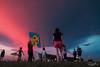 Hello Kitty (My Pixel Magic) Tags: kite sunset pinkglow pinkclouds marinabarrage raincloud landscape people weekend activity