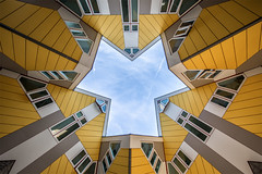Kubuswoningen Rotterdam (Steven Dijkshoorn) Tags: kubuswoningen kubuswoning geel architecture architectural rotterdam 010 rotjeknor travel important