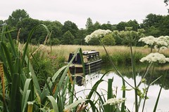 nice hideaway (rocker_mummy) Tags: canal barge boat house surrey shalford