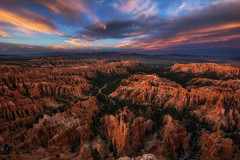 Inspirational (dxd379) Tags: brycecanyon utah sunset paintedsky hoodoo nationalpark nikon d7100 wideangle sigma inspirationpoint