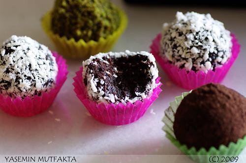 Cikolatali Truff