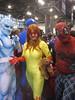 Spider-Plaid & His Amazing Friends (amber-the-stylist) Tags: comics jones costume women cosplay spiderman xmen superhero marvel comiccon angelica mutants firestar javits nycc amazingfriends misslion mslion