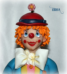 PAYASO 1 (ERSA Creativa) Tags: pasta biscuit flexible fria porcelana