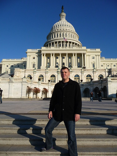 Garrett at United States Capitol