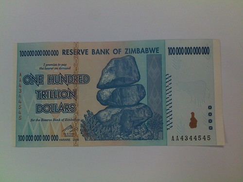 Zimbabwe: 100 000 000 000 000