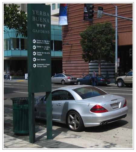 Steve Jobs Mercedes - Yerba Buena Center