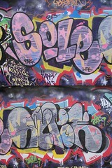 SOLE . GYROE (Brighton Rocks) Tags: life park graffiti brighton level artillery ha sole heavy parkers the gyroe soleo