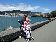 20091223b Margaret, Kathleen and Victoria in Wellington