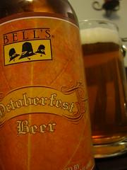 Bell's Oktoberfest Closeup