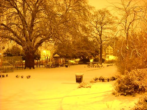 London snow February 2010