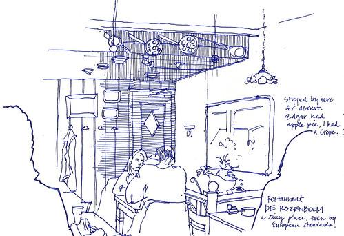 restaurant in a closet