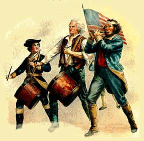 American Revolution Drummers