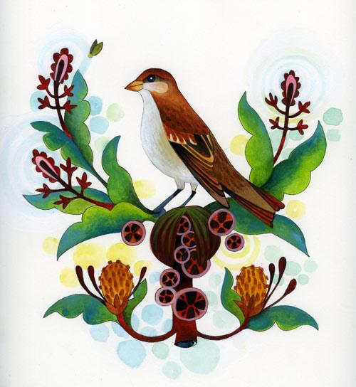 spring-sparrow