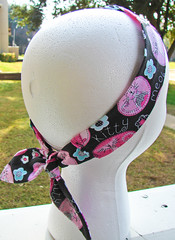 Fabric Headband: Kitty Kat