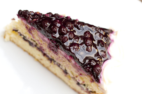 Blueberry Coconut Layer Cake 6