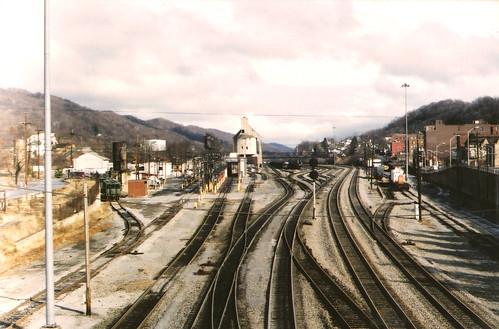 Railroad tracks, Bluefield, WV