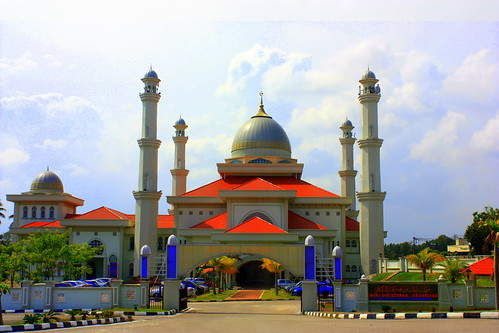 Masjid Sultanah Nur Zahirah, Marang, Terengganu, Malaysia