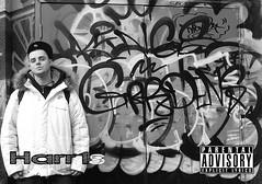 album cover 2 (M1.Designs & Digital) Tags: music toronto art digital work photography graffiti album crowd n cover harris rap