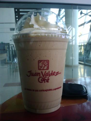 juan valdez nevado, juan valdez coffee, cafe de juan valdez