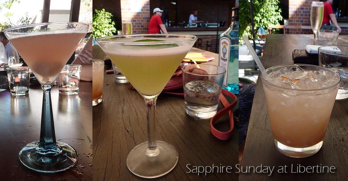 Sapphire Sunday at Libertine