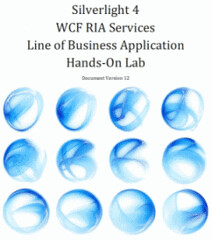 Silverlight 4 WCF RIA Services Line of Business Application Hands-On-Lab