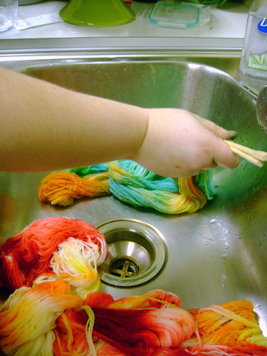 Kitchen-Safe Dyeing