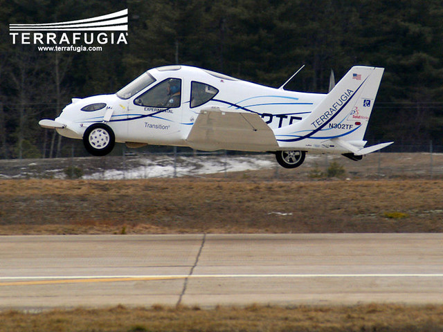 Terrafugia Transition - The Flying Car