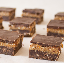 peanut butter shortbread bars