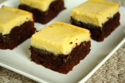 SMS Black Bottom Brownies