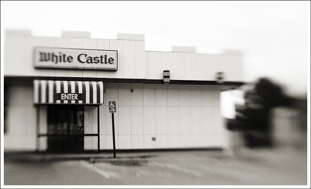 White Castle Lensbaby 2010-01-24