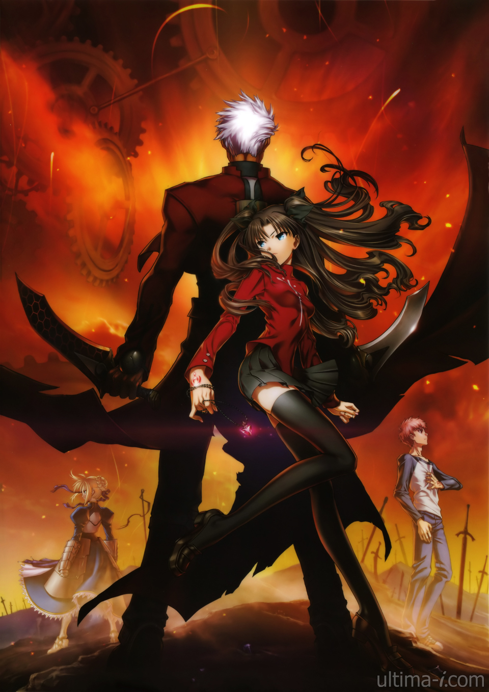 Fate Stay Night Unlimited Blade Works Subscribe