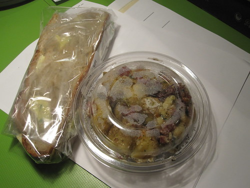 sandwich and potato salad from Cartet - $9.87