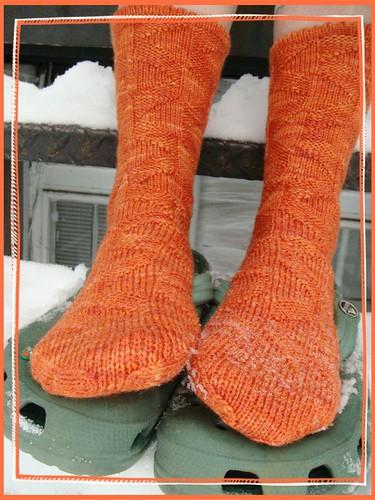 socks snow 022