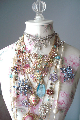 Dress Form with Jewels